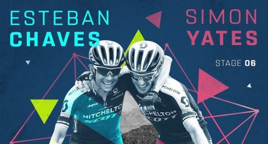 Esteban Chaves / Simon Yates