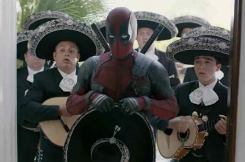 Deadpool con mariachis.