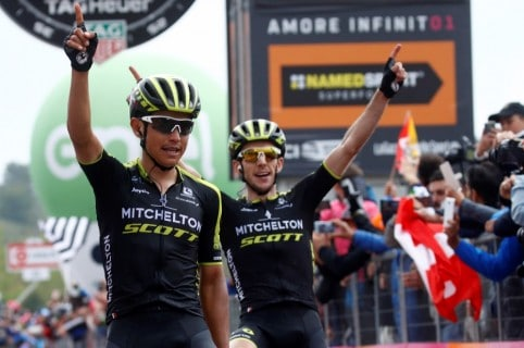 Esteban Chaves y Simon Yates