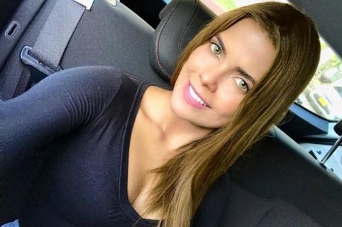 Tahiana Bueno, presentadora y actriz.