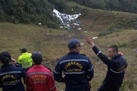 Accidente vuelo de Chapecoense en Medellín