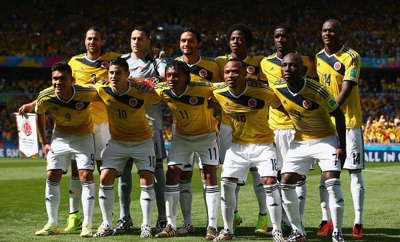 Selección Colombia en Brasil 2014
