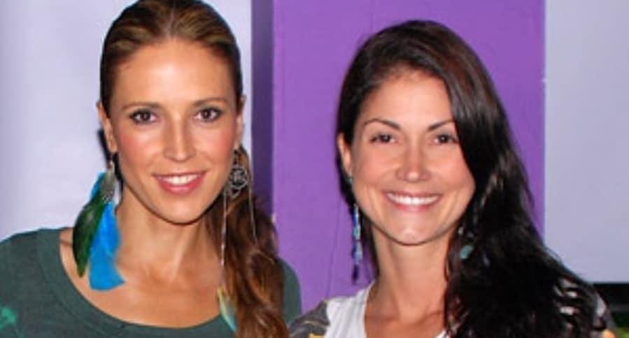 Alejandra Azcárate, actriz, y Lina Marulanda, presentadora.