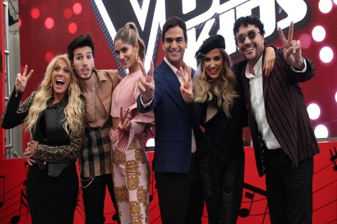 Yuri, Sebastián Yatra, Laura Tobón, Alejandro Palacio, Fanny Lu y Andrés Cepeda.