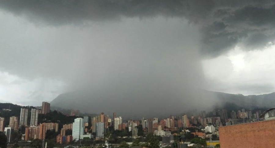 Tormenta en Medellín