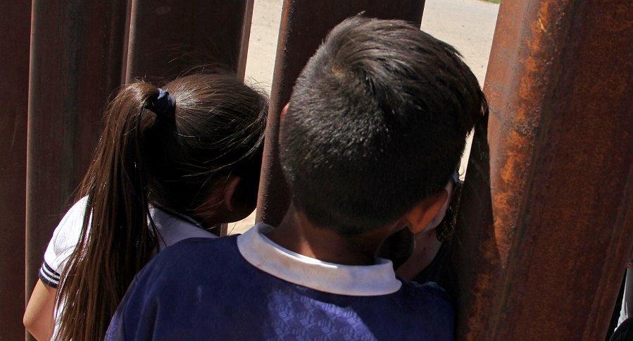 Niños en a frontera