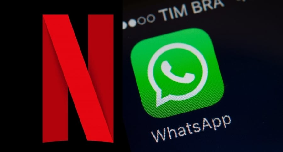 Netflix y WhatsApp