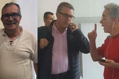'Timochenko', Iván Duque y Álvaro Uribe