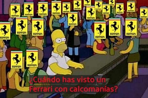 Meme de Ferrari.