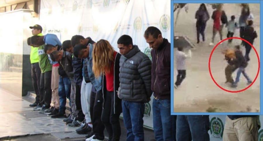 Banda 'Los llaveros, atracadores del centro de Bogotá