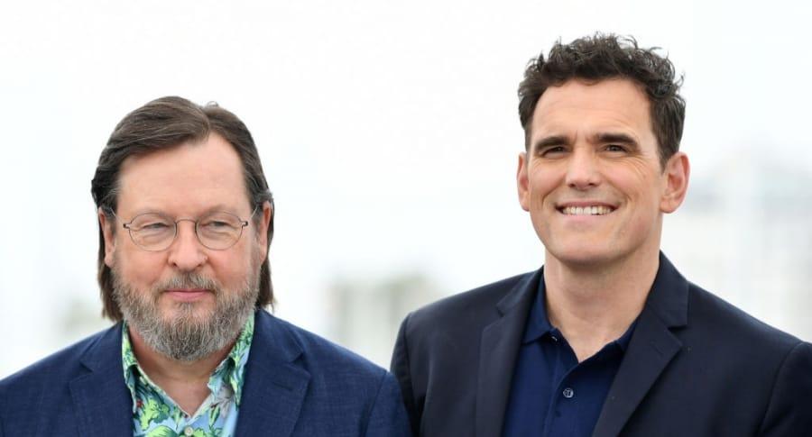 Lars Von Trier y Matt Dillon