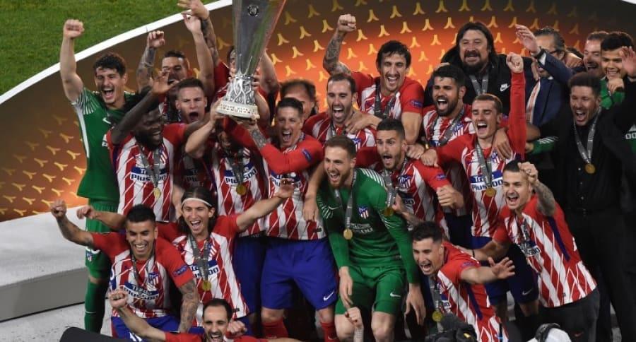 Atlético de Madrid, campeón de la Liga de Europa