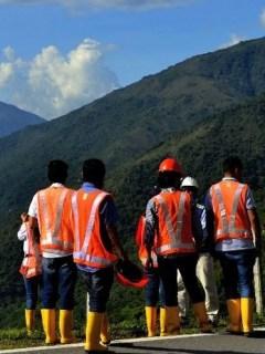 Trabajadores de Hidroituango