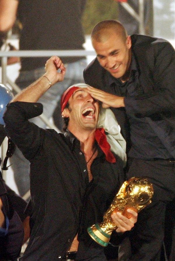 Gianluigi Buffon y Fabio Cannavaro
