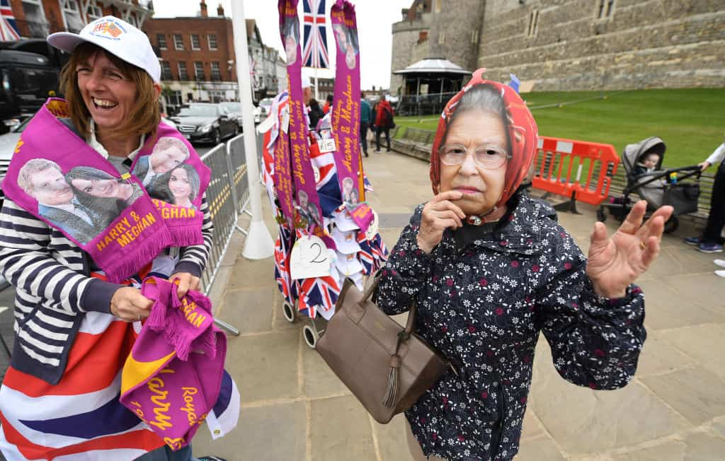 Preparativos en Windsor para la boda real