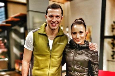 Emerson Rodríguez y  Johanna Fadul