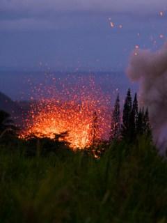 Volcán Kilauea, en Hawái
