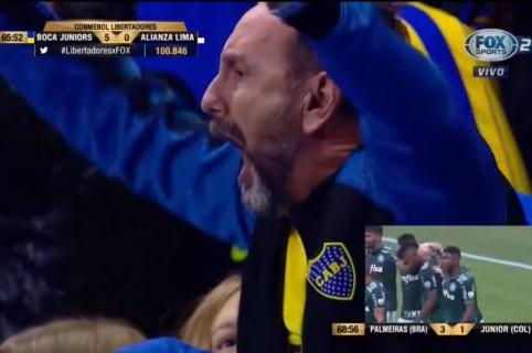 Celebración Boca Juniors