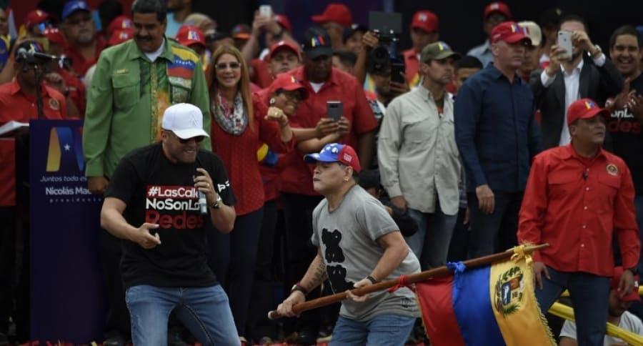 Diego Maradona en Venezuela
