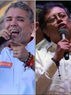 Iván Duque, Gustavo Petro, Sergio Fajardo y Germán Vargas Lleras