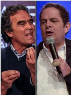 Sergio Fajardo, Germán Vargas Lleras, Iván Duque y Gustavo Petro