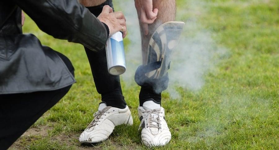 Spray para lesiones