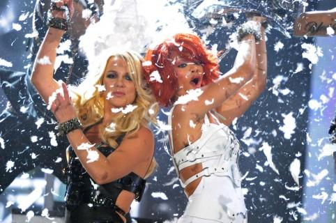 Britney Spears y Rihanna