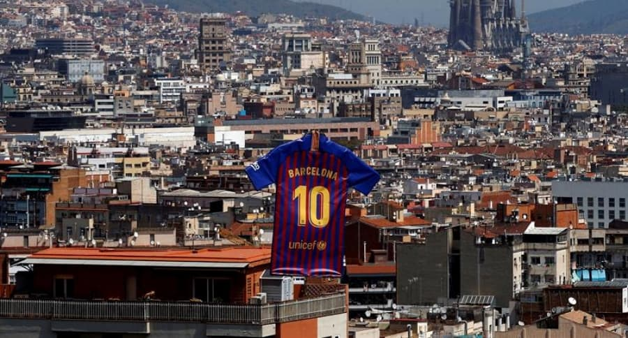 Nueva camiseta de Barcelona