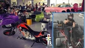 Restaurante El Transportador y la víctima del accidente
