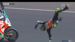 Accidente de Crutchlow Moto GP