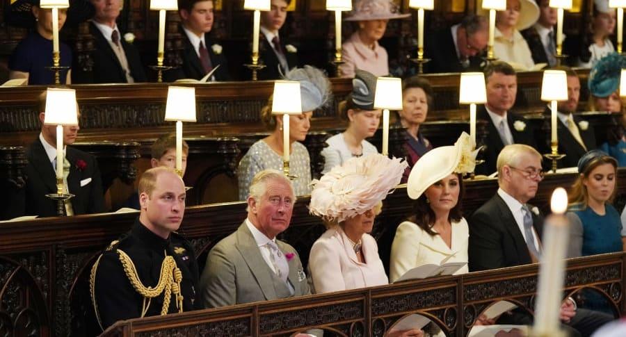 Príncipe William, príncipe Carlos, Camila, Kate Middleton
