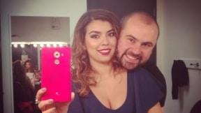 Liss Pereira y Ricardo Quevedo