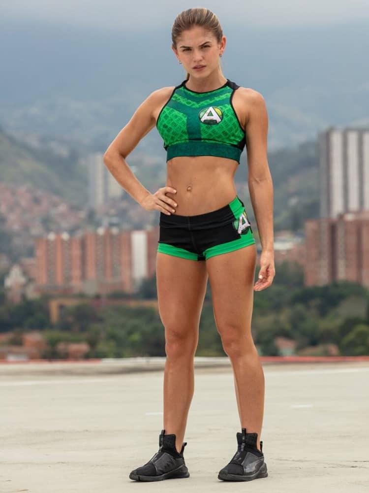 Valeria Duque, participante del 'Desafío' 2018.