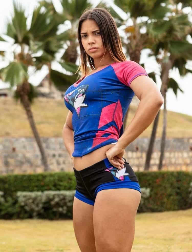 María Fernanda Aguilar , participante del 'Desafío' 2018.