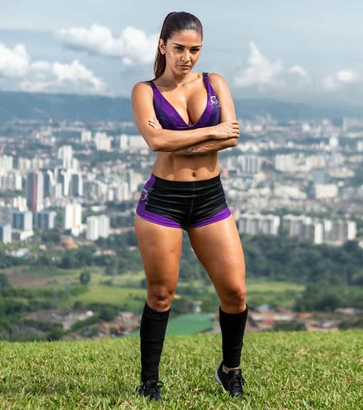 Paola Santos, participante del 'Desafío' 2018.