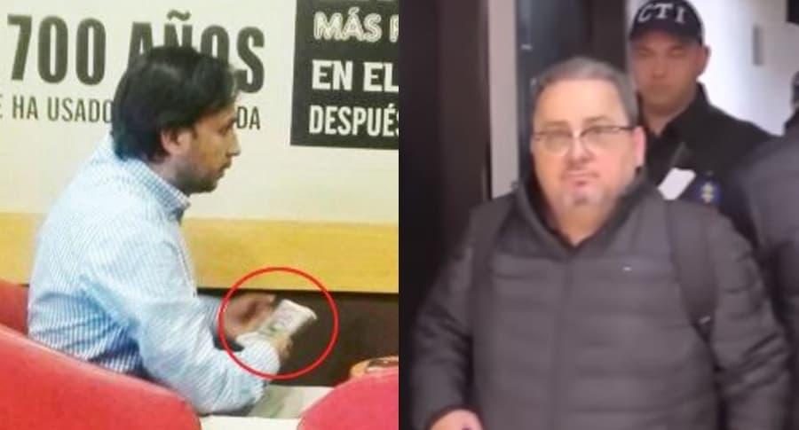 Yovanni Caicedo y Juan Carlos Restrepo