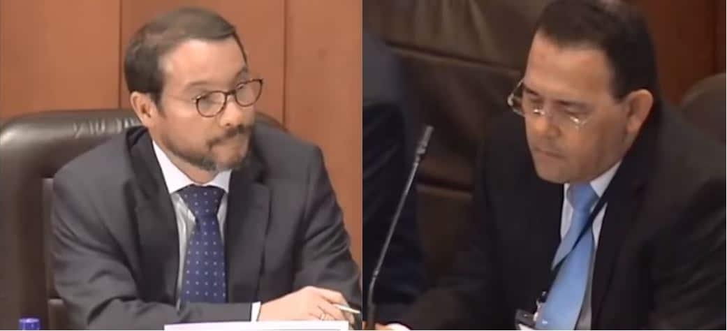 Humberto Escrucería y Eduardo Mendoza
