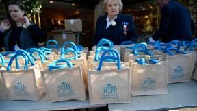 Bolsas de regalo de la boda real