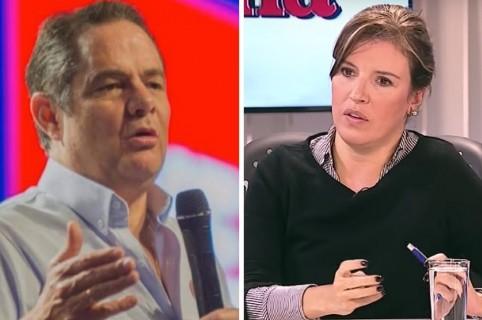Vargas Lleras y Sandra Borda