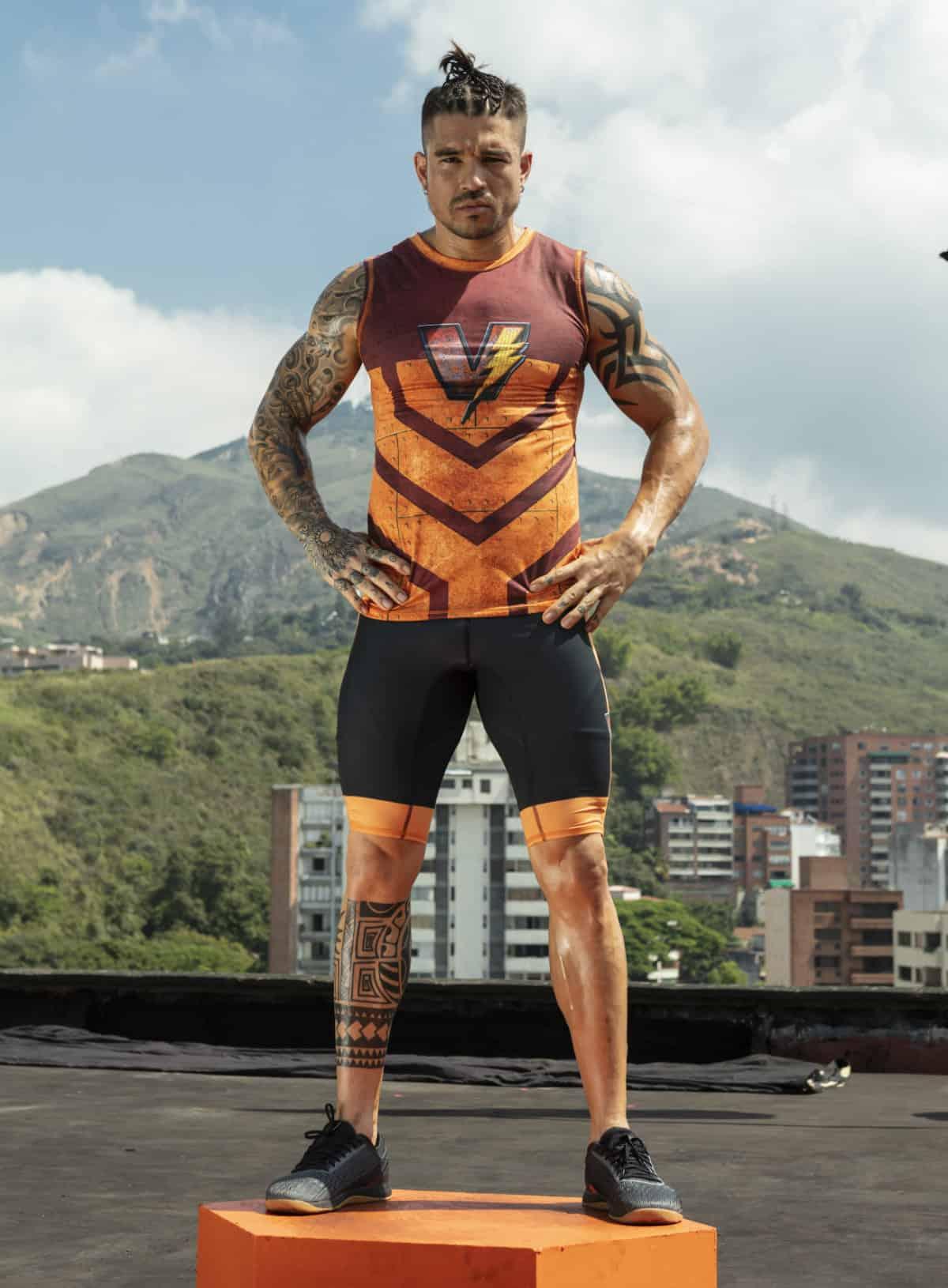 Belmer Ospina 'Be', del equipo de Vallecaucanos del 'Desafío'