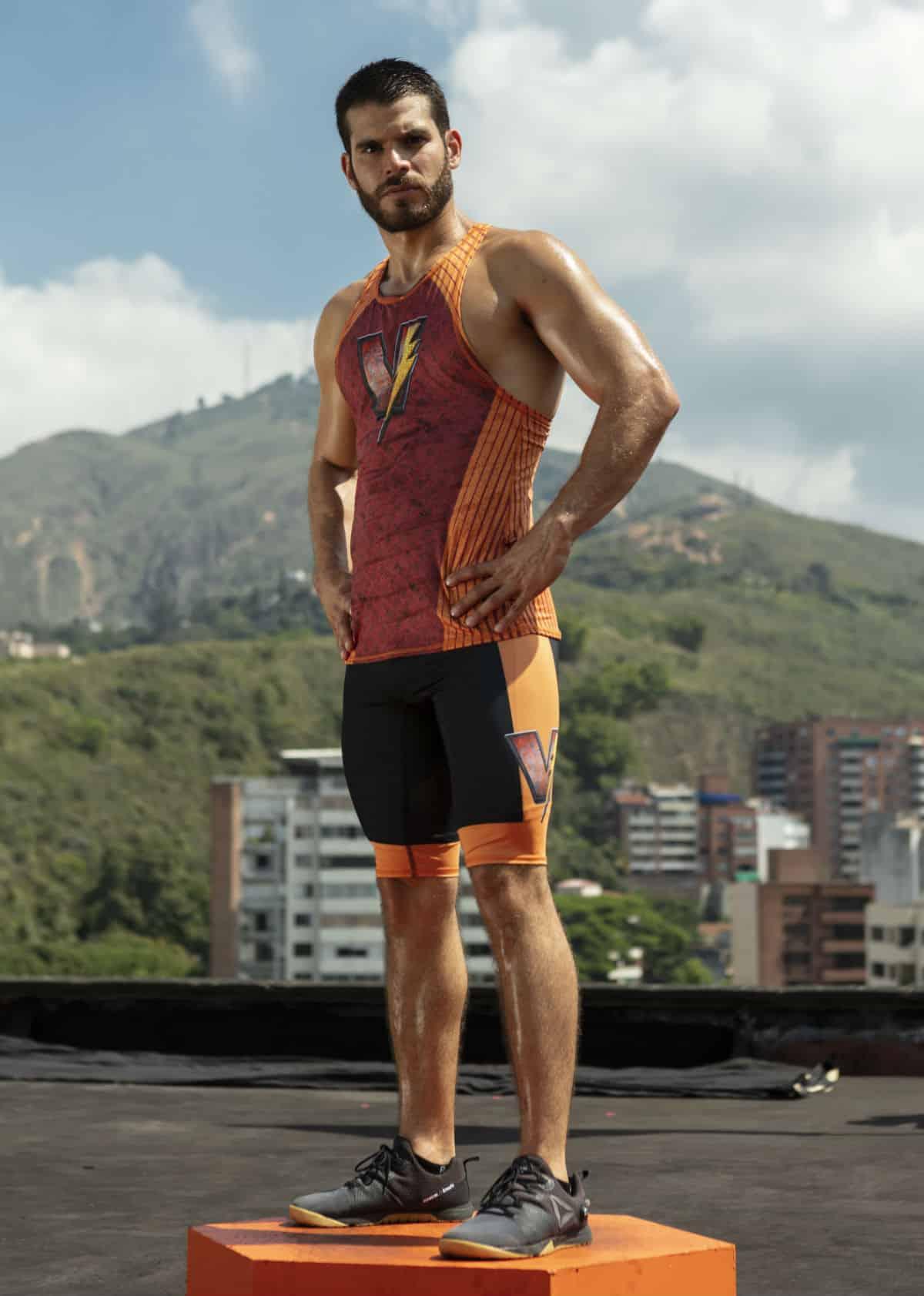 Ricardo Montaño, del equipo de Vallecaucanos del 'Desafío'