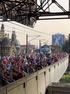 Estación Parque Berrío - Metro de Medellín