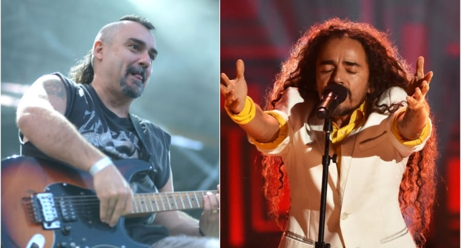 Roberto Gañán Ojea, de Ska-P / Rubén Albarrán, vocalista de Café Tacvba
