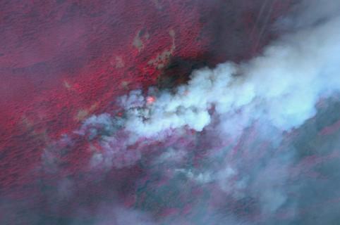 Incendio en el cañón de Eagle Creek