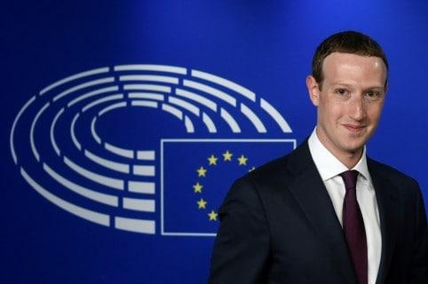 Zuckerberg en Europa