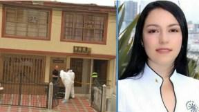 María Manuela Giraldo Montes, asesinada en esta vivienda de la capital de Caldas