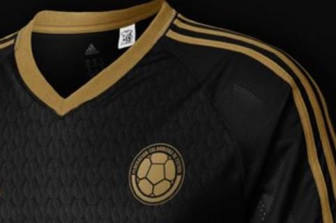 Foto  Supuesta camiseta negra de Colombia no sería usada en el Mundial 9d21ac7d174db