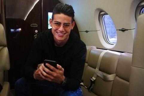 James en avión