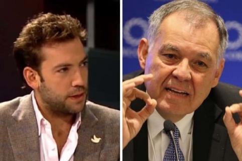 Martín Santos y Alejandro Ordóñez