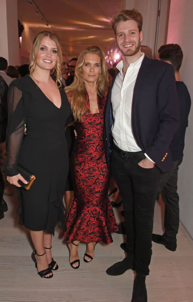 Kitty Spencer, Victoria Aitken y Louis Spencer